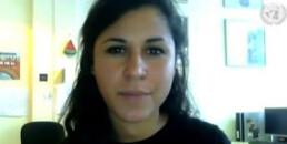 LAWRS Latin American Women's Rights Service Lucila Grenada Speaks at UN Women